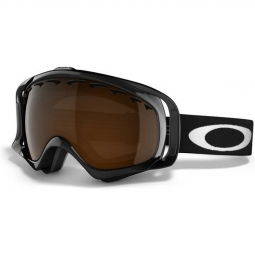 Masque de ski oakley crowbar jet black black iridium