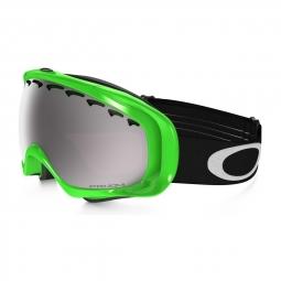 Masque de ski oakley crowbar sochi olympic neon gren prizm black