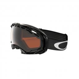 Masque de ski splice oakley jet black prizm black