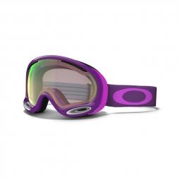 Masque de ski oakley a frame 2 0 helio purple vr50 pink iridium