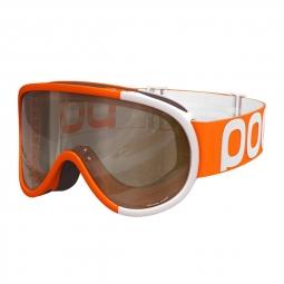Masque de ski poc retina comp zink orange