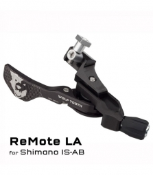 Commande tige de selle wolf tooth remote light action pour shimano is a et b noir
