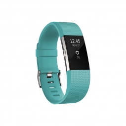 Tracker d activite fitbit charge 2 turquoise