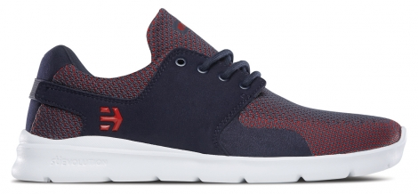 Baskets basses etnies scout xt navy red 40