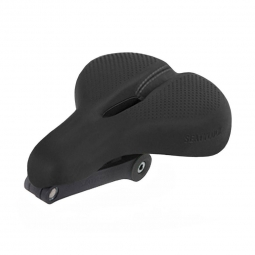 Selle de velo antivol pliable seatylock confort noir