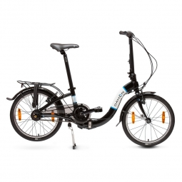 Velo pliant pack ciao i7 gris