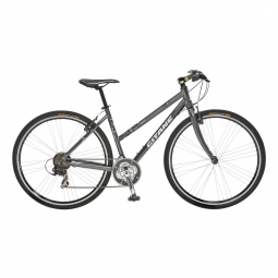 Velo fitness play 400 sport 47 gris fonce