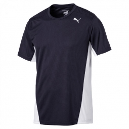 Tee shirt manches courtes puma cross the line tee s