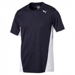 Tee shirt manches courtes puma cross the line tee xl