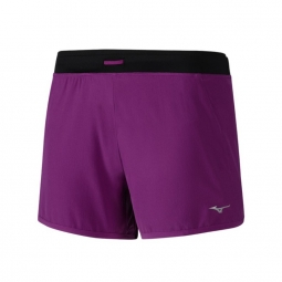 Short femme mizuno alpha 4 0 violet l