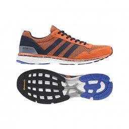 Chaussures de running adidas adizero adios boost m orange 42