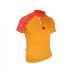 Maillot manches courtes raidlight performer orange xl
