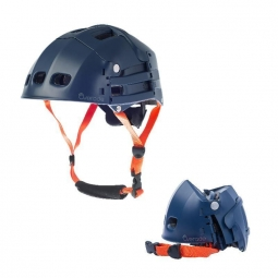 Casque velo pliant overade plixi fit bleu l xl