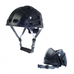 Casque velo pliant overade plixi fit noir l xl
