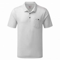 Nosilife, polo anti moustique Gilles manches courtes homme couleurs - Light grey, Taille - XL