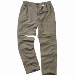 Nosilife, pantalon anti moustique convertibles homme couleurs - Pebble, Taille - 40
