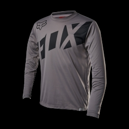 Maillot de vtt fox youth ranger ls graphite m