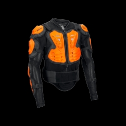 Veste de protection fox titan sport black orange l