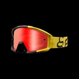 Masque de vtt fox main mastar yellow