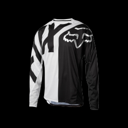 Maillot de vtt fox youth demo white black s
