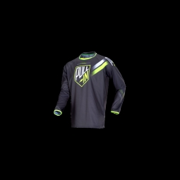 Maillot vtt pull in challenger grey lime xl