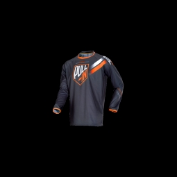 Maillot vtt pull in challenger grey orange s