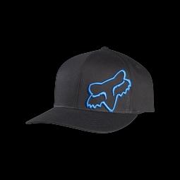 Casquette fox flex 45 flexfit black blue s m