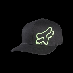 Casquette fox flex 45 flexfit black green s m