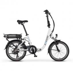 Vélo-Pliant-Electrique Folda Blanc