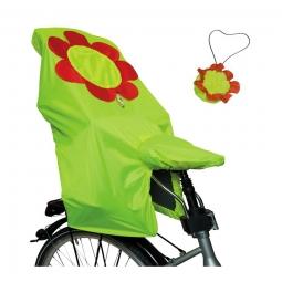 Protection pluie 2 en 1 selle et siège enfant Fleurs Lunari