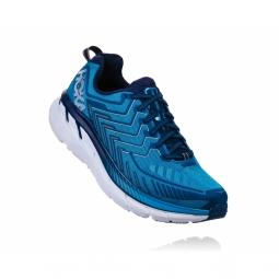 Chaussures trail hoka one one clifton 4 diva blue 42