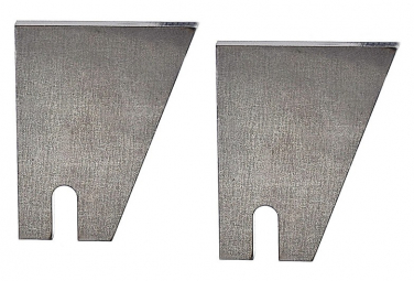 Pattes acier à souder pour maintien roue de vélo et remorque .