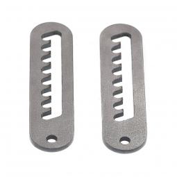 Fixation reglable acier pour inclinaison siege velo couche ou cadre