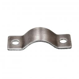 Bride acier pour le serrage dans la construction velo ou remorque velo