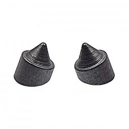 Support de pompe acier a souder sur cadre de velo la paire