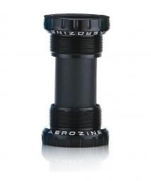 Boitier de pedalier aerozine bsa 73 68mm black