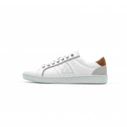 Baskets basses le coq sportif offcourt leather suede 45