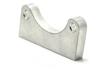 Support frein à disque Aluminium à souder pour vélo .