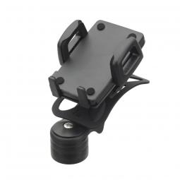 Support smartphone ergotec noir pour potences a head