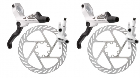 2012 AVID ELIXIR 1 Pair White Discs Brakes G2 160/140mm PM / IS