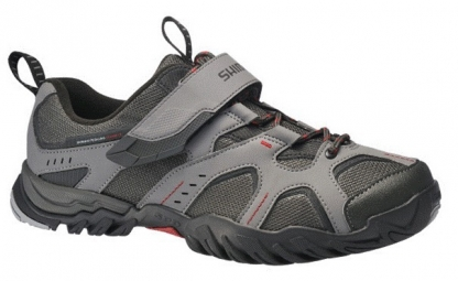 Chaussures VTT Shimano Mt43 Grise Rouge