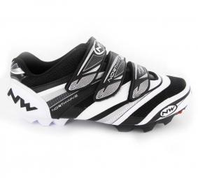 Chaussures VTT Northwave Lizzard Pro 2011 Noire Blanche