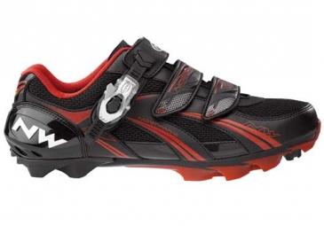 Chaussures VTT Northwave SPARTA SBS Noire Rouge