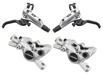 2012 Shimano XT M785 Pair Silver Brake Discs Without PM