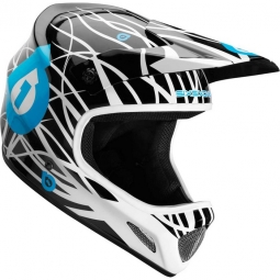 661 Full Face Helmet EVO WIRED 2012 Black / Blue