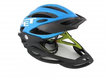 MET 2012 Helmet PARACHUTE Cyan Mate