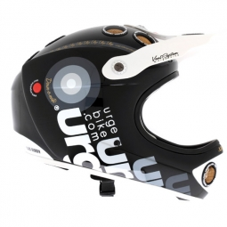 URGE 2012 Casque DOWN-O-MATIC Black Rainbow NOIR
