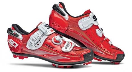 Chaussures VTT Sidi Dragon 3 2012 Rouge Verni