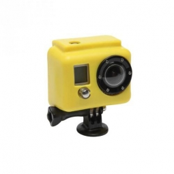 XSORIES Etui de Protection Silicon JAUNE pour Camera GOPRO Hero et hero 2