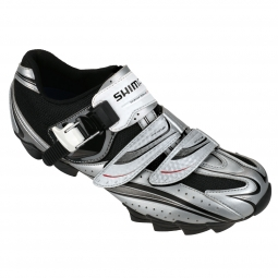 Chaussures VTT Shimano M087S 2012 Argent